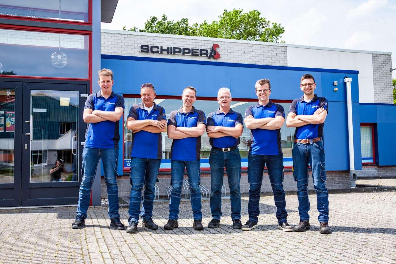Het team van Schipper Hardenberg